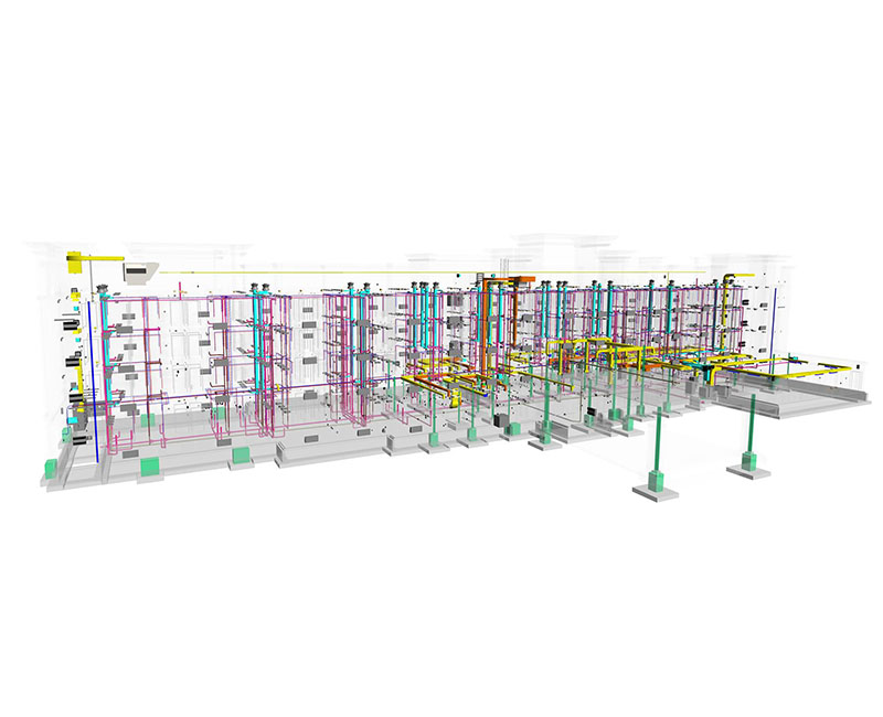 Image of BIM MEP service for Hospitality-hotel project