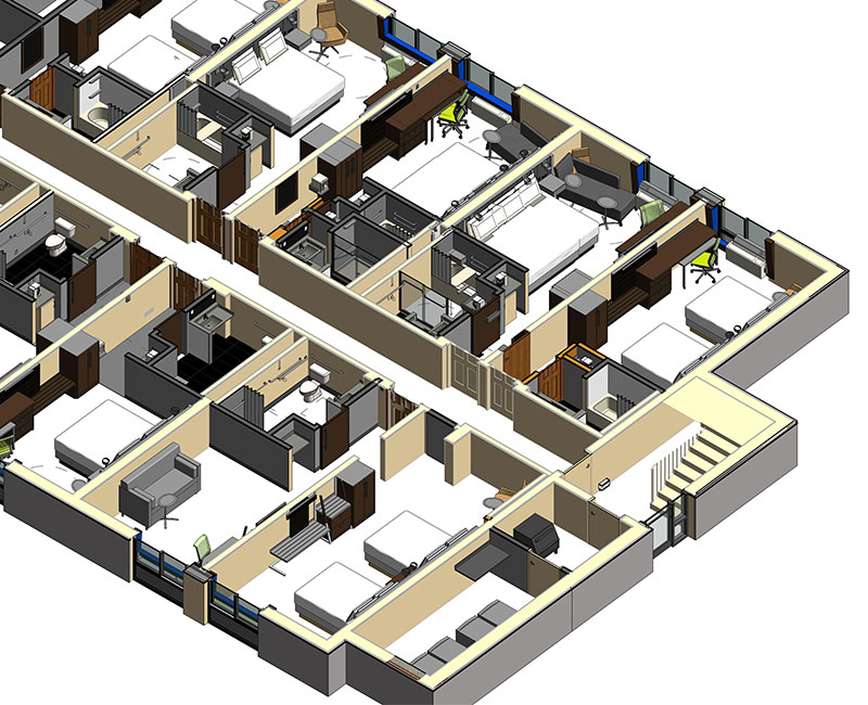 Image of Architectural Sections- benefits of BIM- BIM Architectural Services