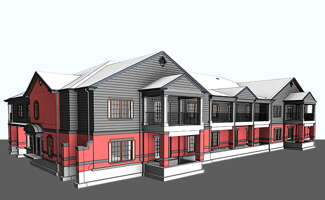 Architectural BIM Modeling and Coordination Services in Ohio (OH) by United-BIM Inc.