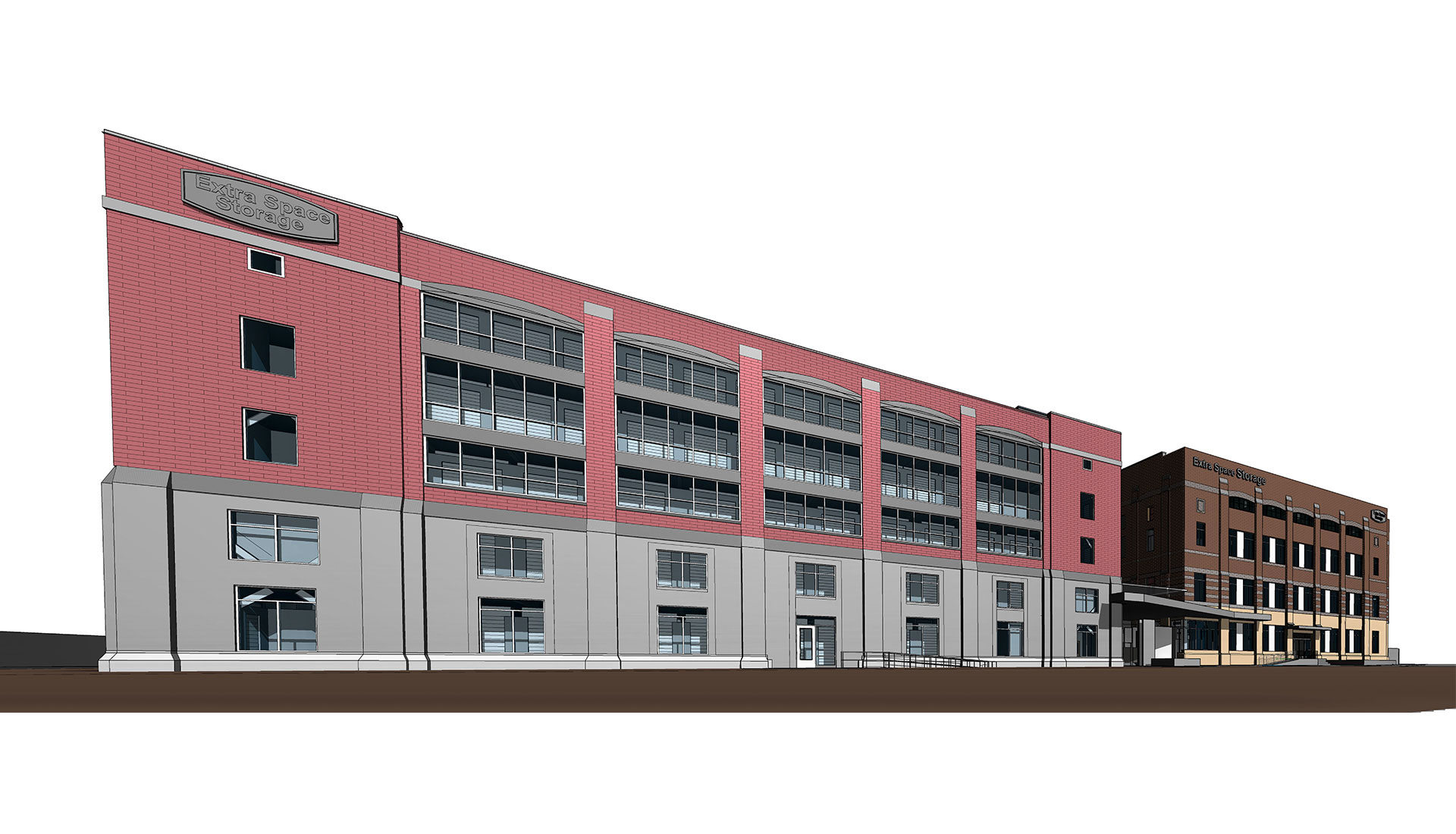 Extra-Space-Storage-Facility-BIM-Modeling-Project-in-Commercial-Sector