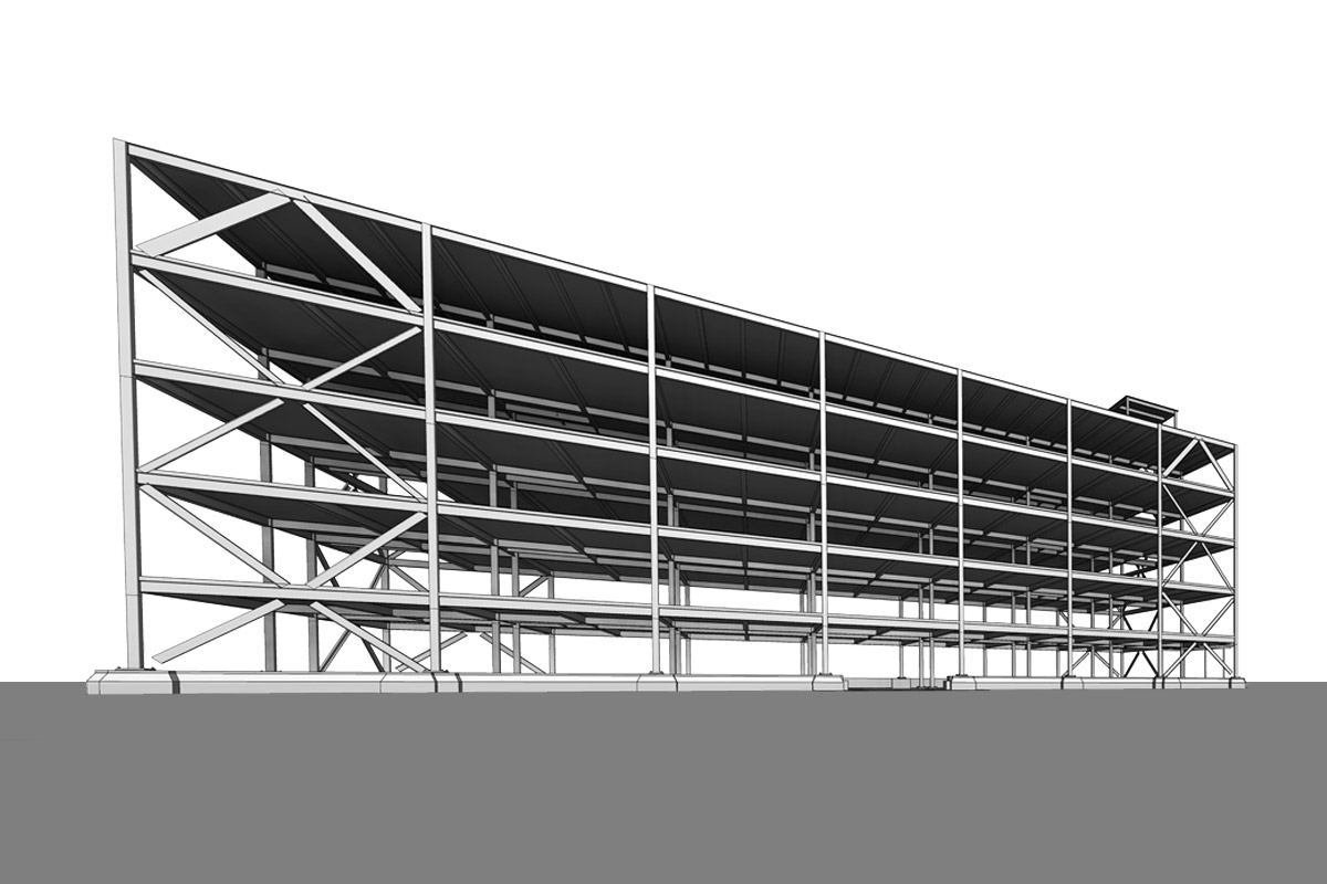 Extra-Space-Storage-Structural-Modeling-Services-by-United-BIM.