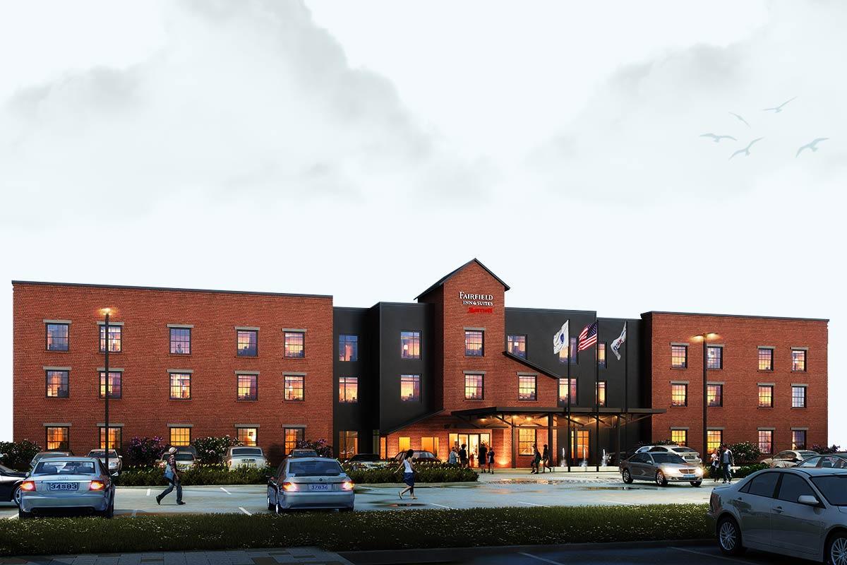 Fairfield-Inn-3D-Rendering-Services-by-United-BIM