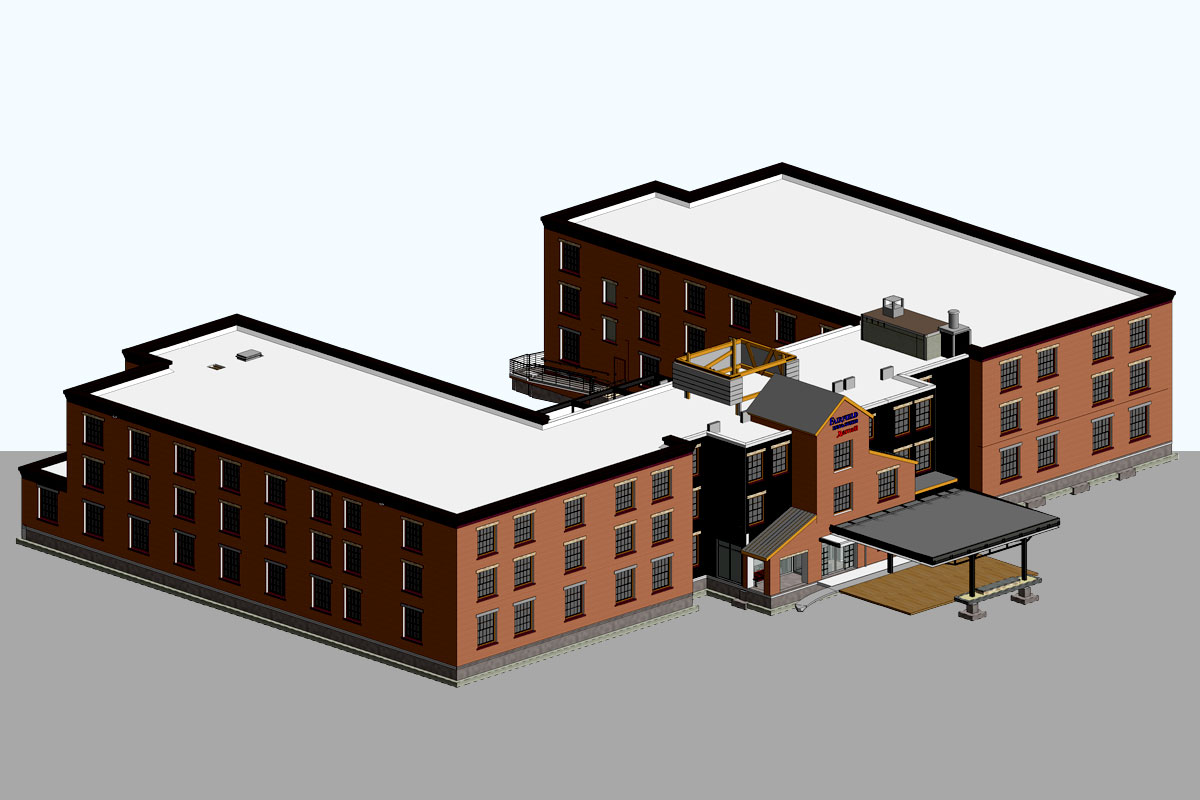 Fairfield-Inn-Architectural-Modeling-Services-by-United-BIM