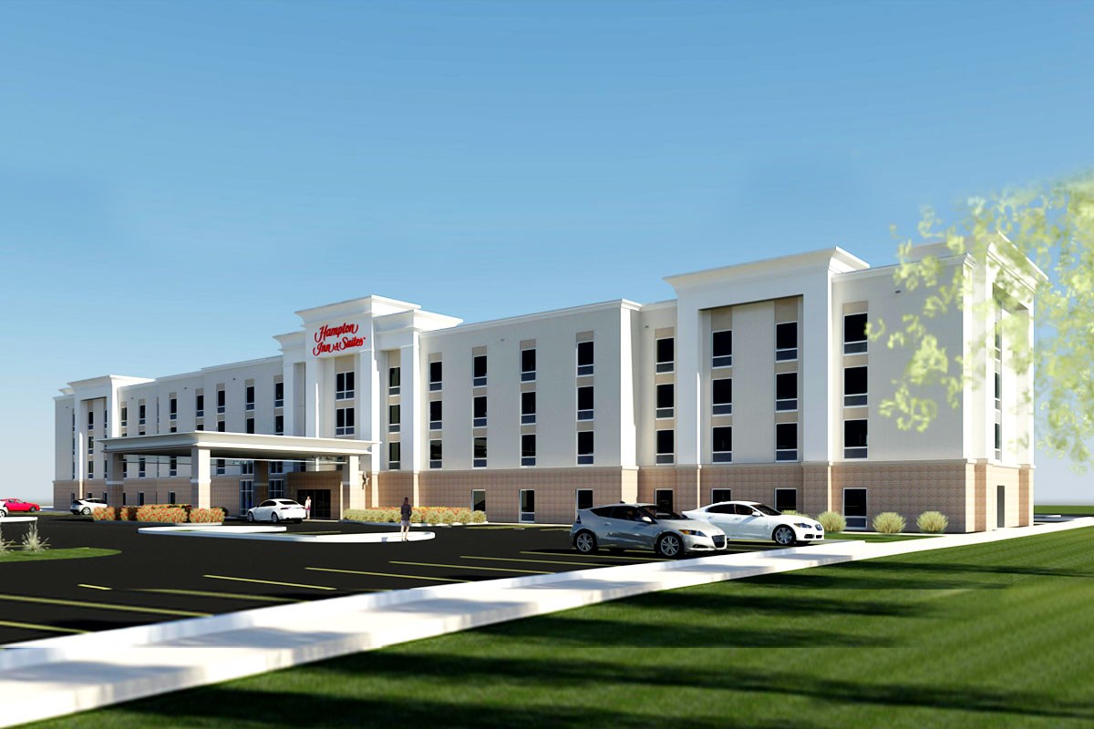 Hampton-Inn-and-Suites-3D-Rendering-Services-by-United-BIM