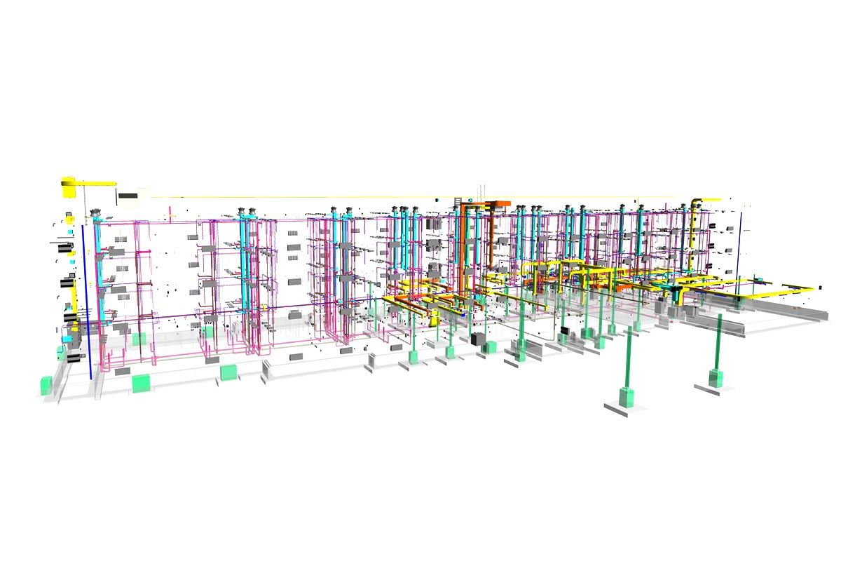 Hampton-Inn-and-Suites-MEPFP-Modeling-Services-by-United-BIM
