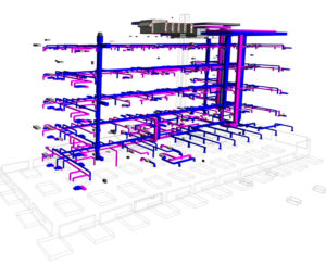Image of Revit MEP drafting services- Plumbing system