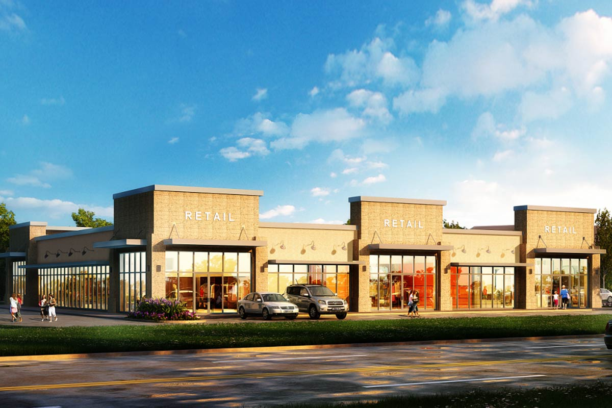 Retail-Complex-3D-Rendering-Services-by-United-BIM