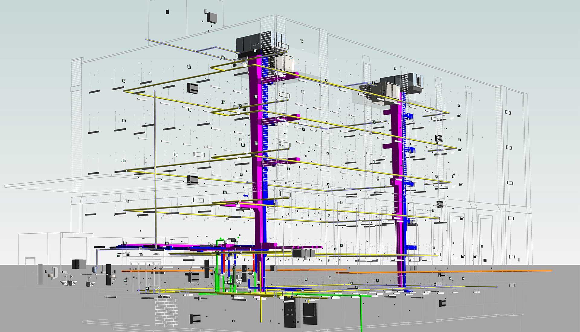 Revit--3D-MEP-BIM-Model-Commercial-Modeling-by-United-BIM