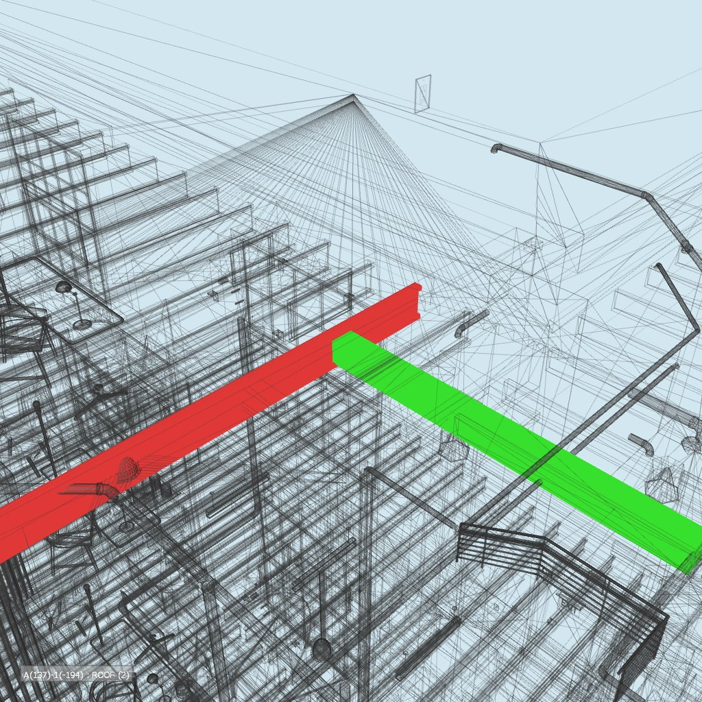 Revit MEP drafting services- Clash detection between MEP and Structural model