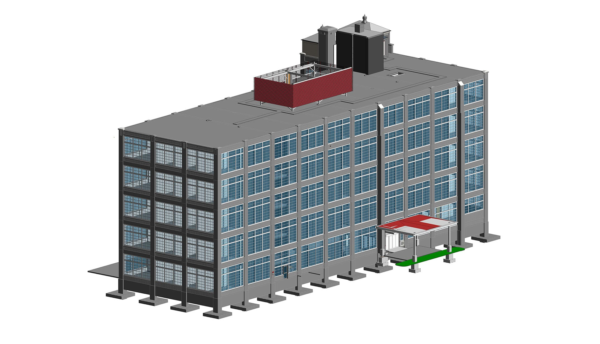 3D-Architectural-BIM-Model-Benefits of BIM