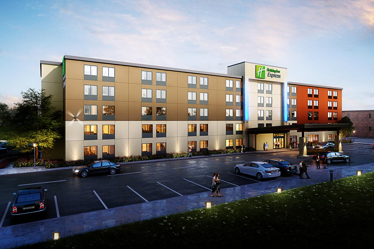 Holiday-Inn-Express-3D-Rendering-Services-by-United-BIM