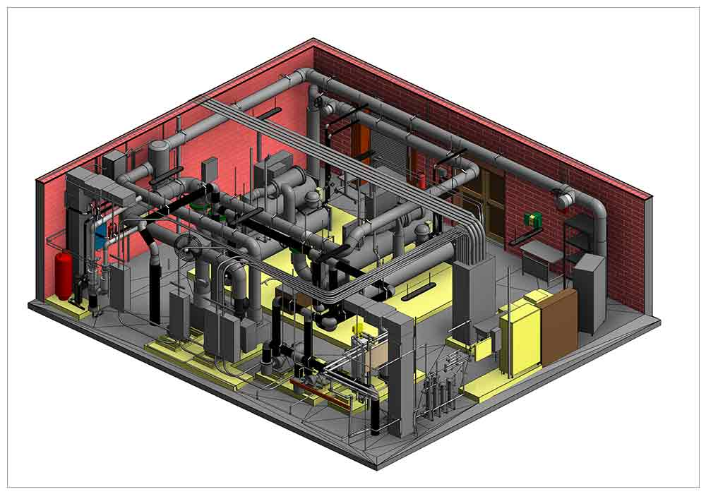 Point Cloud to BIM Modeling- Scan to BIM Modeling by United-BIM