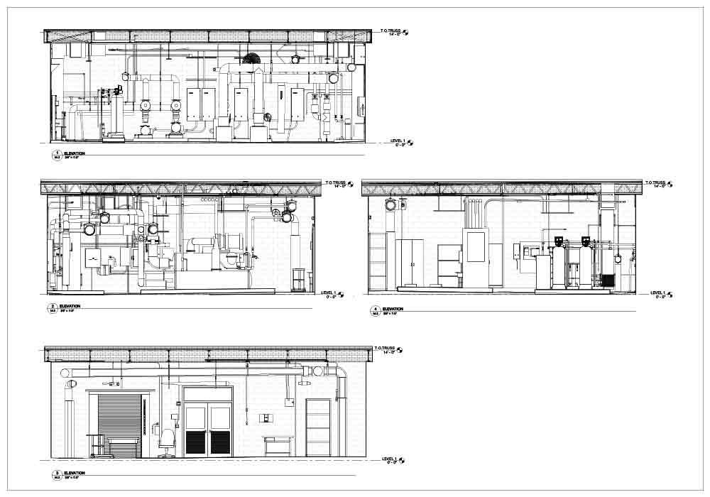 2D Architecture Design of School Building