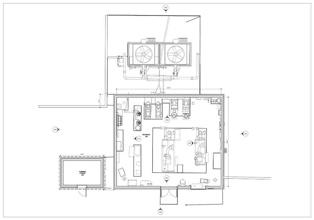 2D Drawing of Education School Building- BIM Architecture