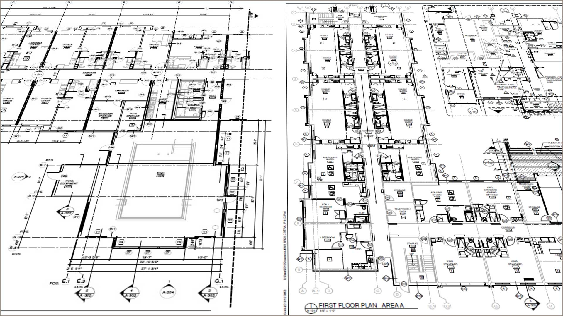Architectural Design- Design Documents- Architectural modeling and BIM Implementation during hotel construction project