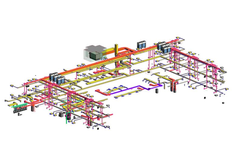 HVAC-Revit-Model-of-hotel-project--Modeling-by-United-BIM