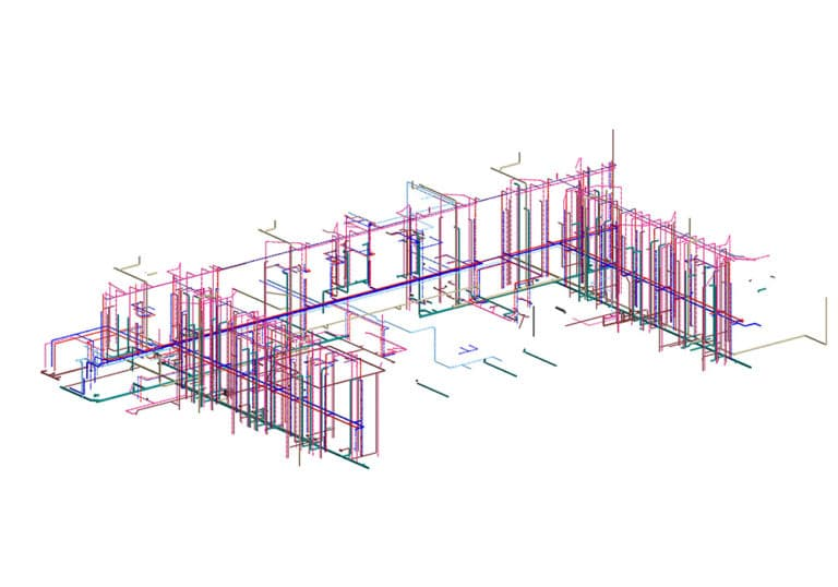 Plumbing-Revit-Model-of-hotel-project--Modeling-by-United-BIM