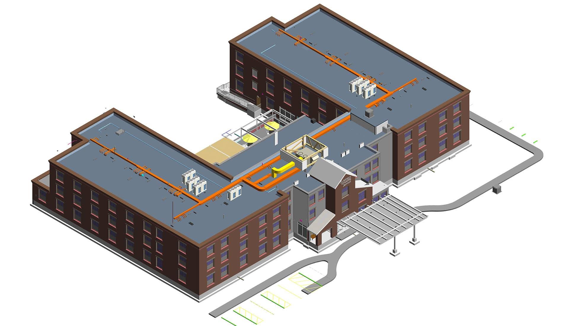 Fairfield Inn- 3d- Architecture Modeling by United-BIM