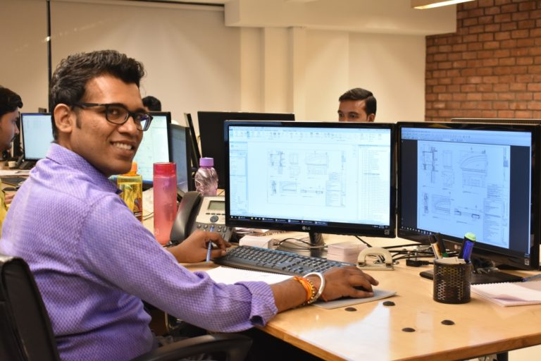 Senior BIM Modeler- Pravin spreading his charming smile- People of United-BIM