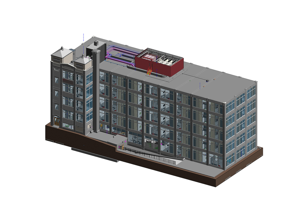 Architectural Model of 5 Story hotel building- 3D BIM Architectural modeling- BIM During Hotel Remodeling