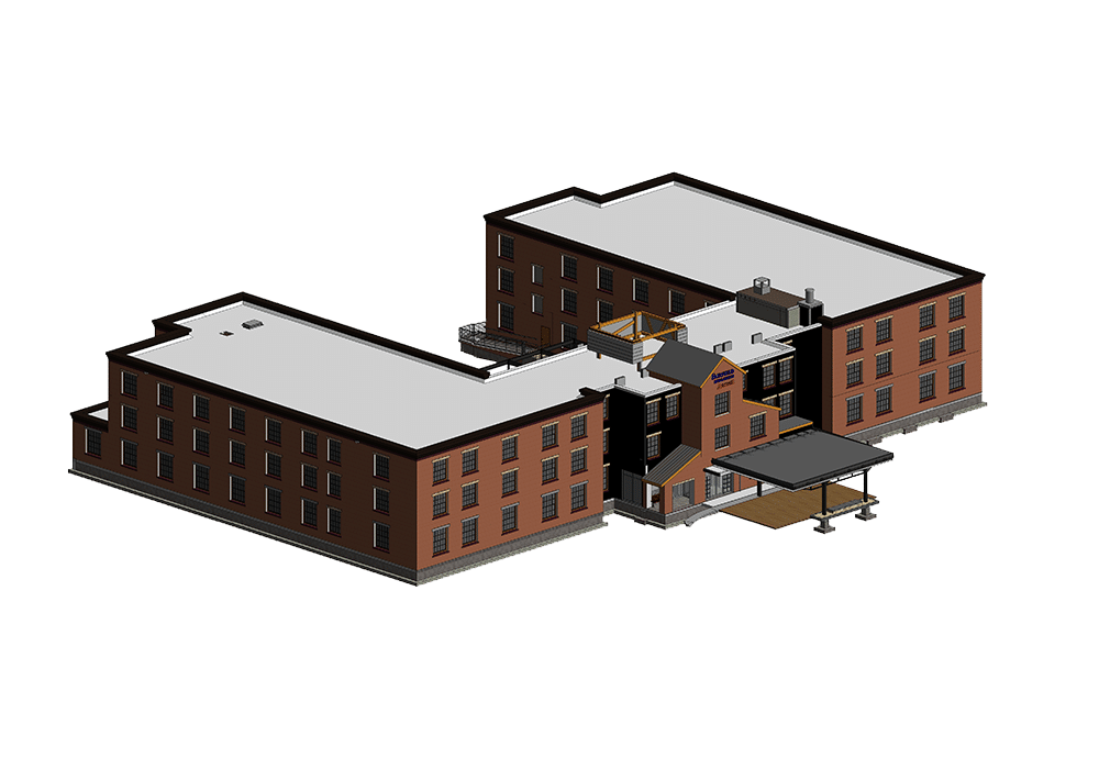 Architectural-3D-BIM-model-of-hospitality-hotel-project-Revit-BIM-Modeling by United-BIM