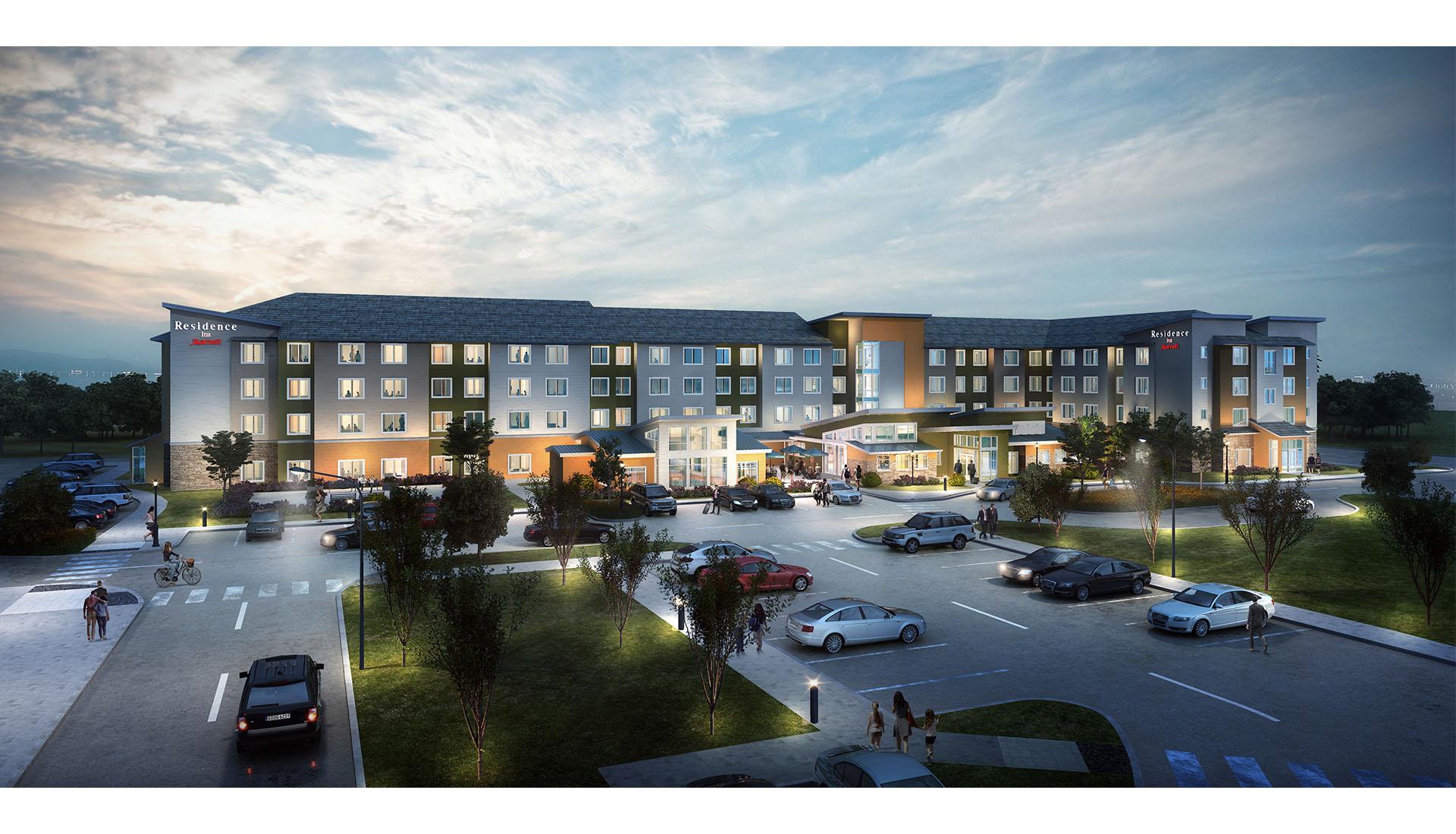 Residence Inn- 3D Rendering