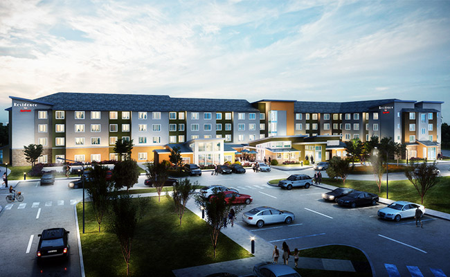 Residence-Inn-3D-Rendering-Visualization-Services-by-United-BIM
