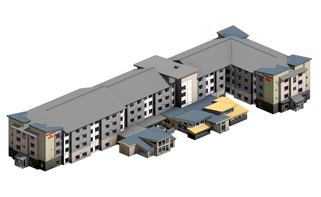 Residence-Inn-BIM-Architectural-Modeling-Services-in-Colorado-by-United-BIM