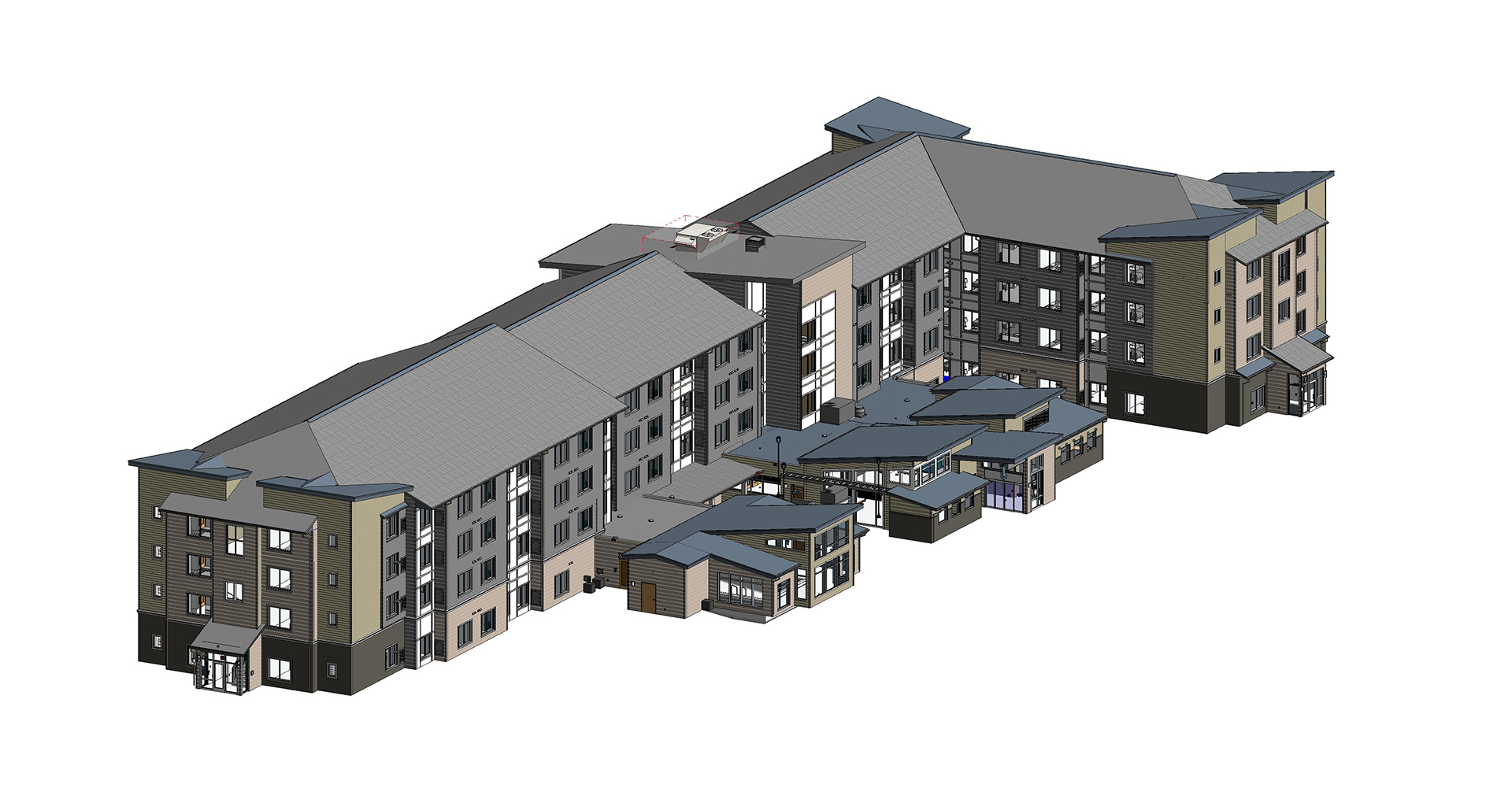 Residence Inn- Architectural Modeling