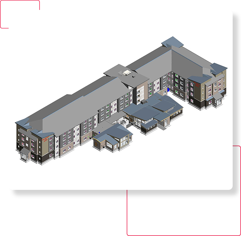3D Revit Architectural Model- BIM-Architectural-Modeling-Services-United-BIM