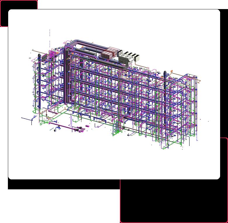 3d revit mep model- bim-mep-modeling-services-drafting-outsourcing