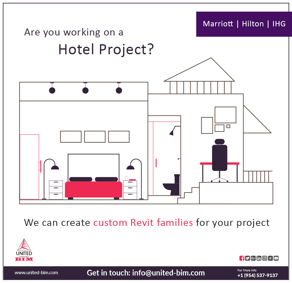 Revit Family Creation Services | Custom BIM Objects