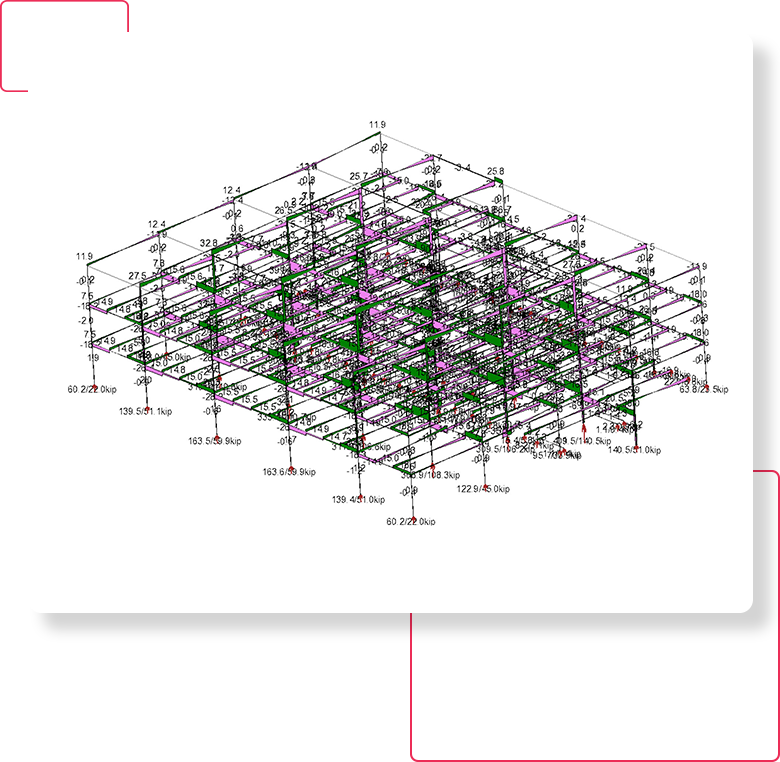 Structural Analysis- 3D Structural Modeling-Services-United-BIM