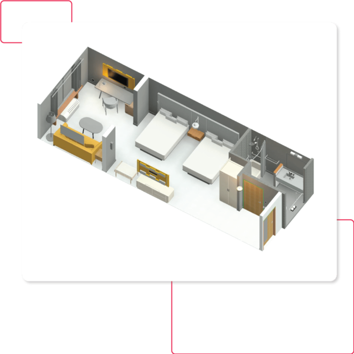 Room-With-Furniture-3D-Model-Architectural-Revit-Modeling-Getting started with BIM
