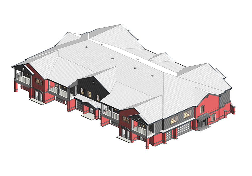 Architectural-Revit-3D-Model-Multi-Residence-Home-Project-by-United-BIM