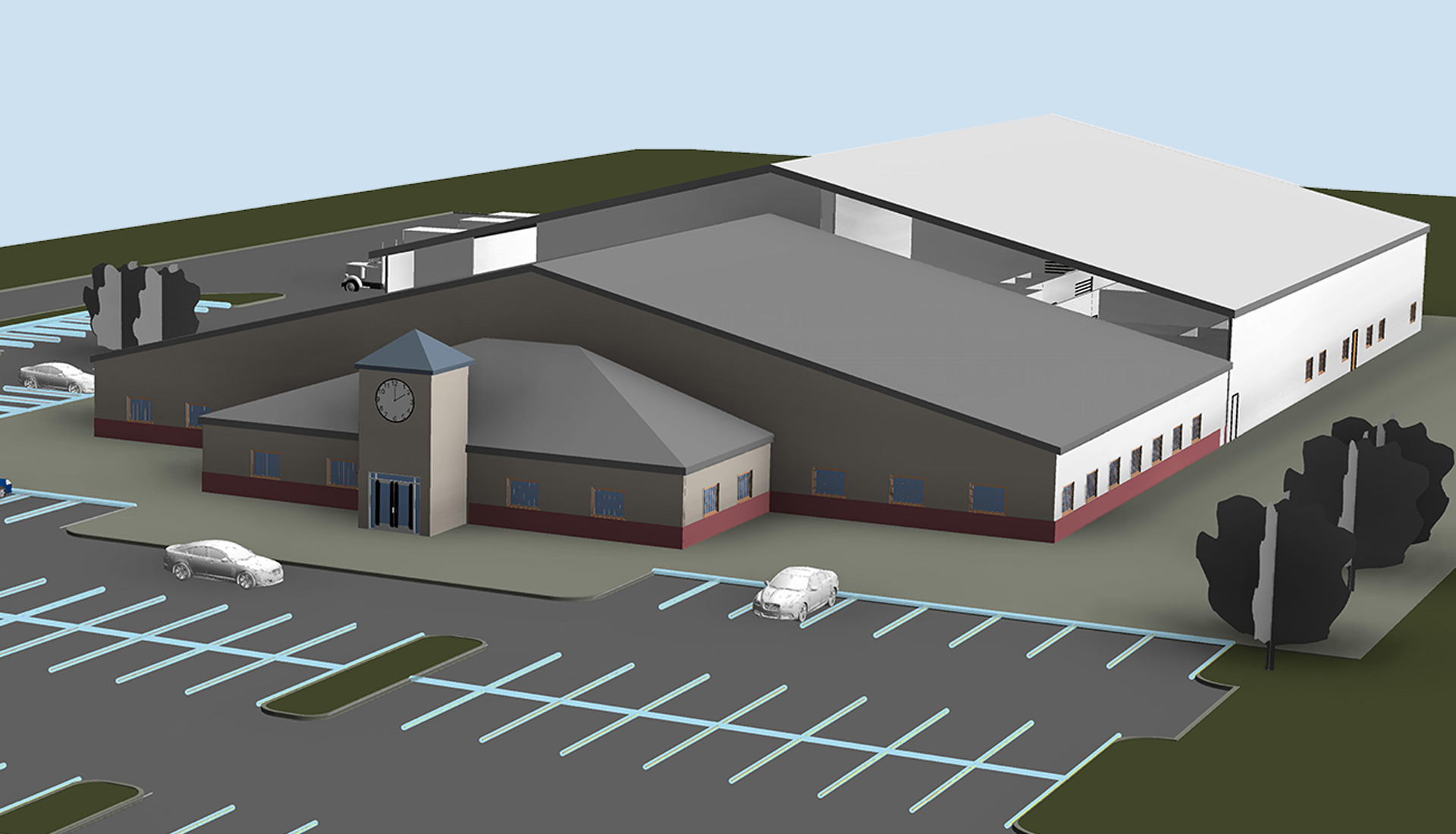 3D-Architectural-Model_Accutime-Systems_Industrial-Project_Revit-Modeling-by-United-BIM
