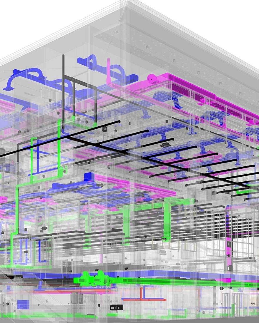 3D-MEP-Revit-Model-Commercial Project_BIM Services-by-United-BIM