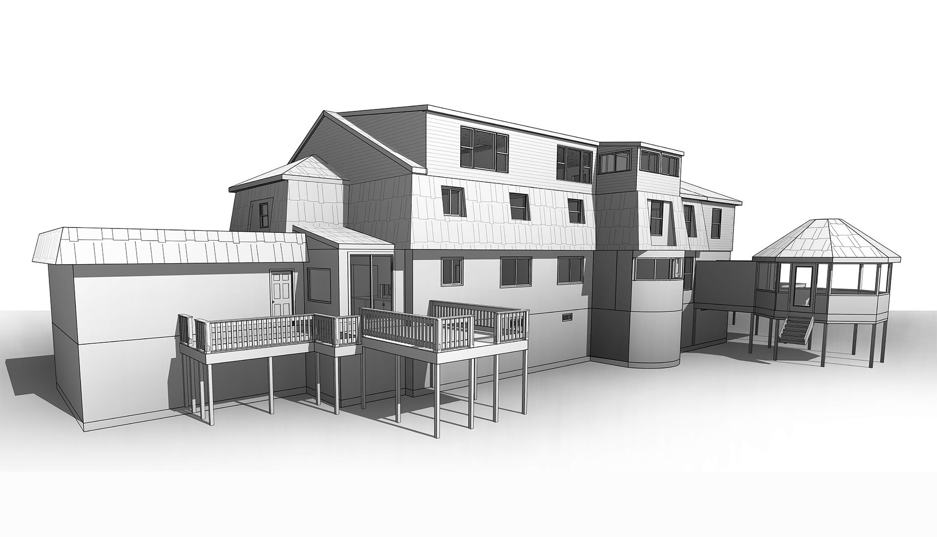 Architect-BIM-Model_Residential-Project_Modeling-Project-by-United-BIM