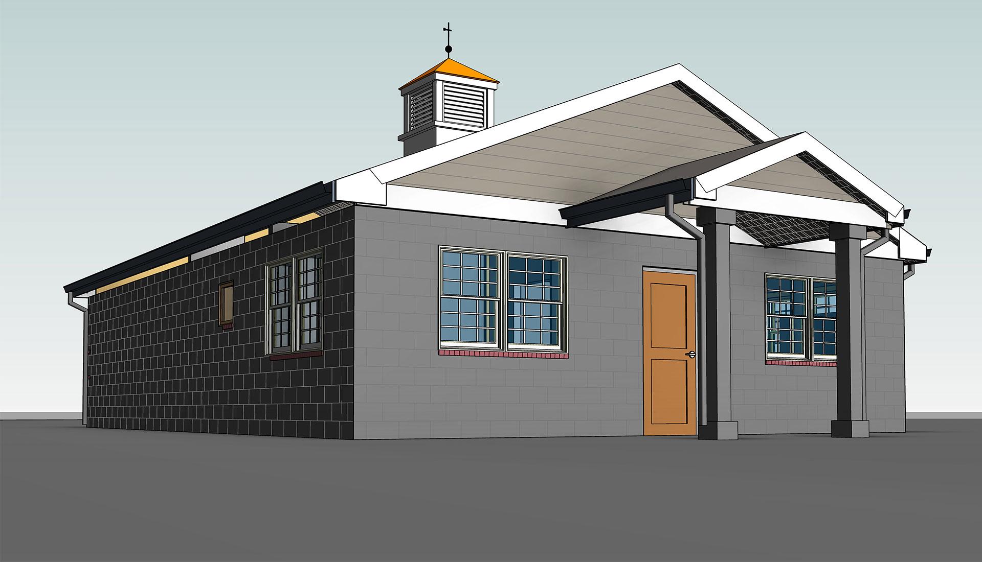 Architectural 3D Model_Windsor-Animal_Hospital_BIM-Modeling-Project-by-United-BIM