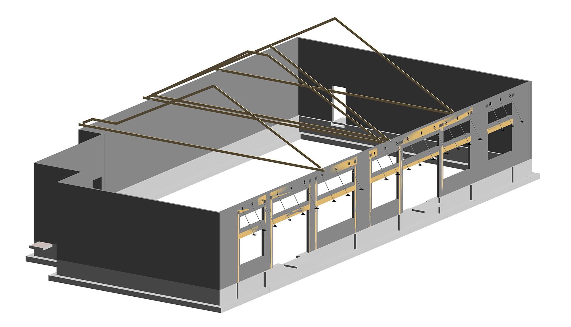 Architectural-Revit-Modeling-Silver_lane_Gas_Station-BIM-Project-by_United-BIM