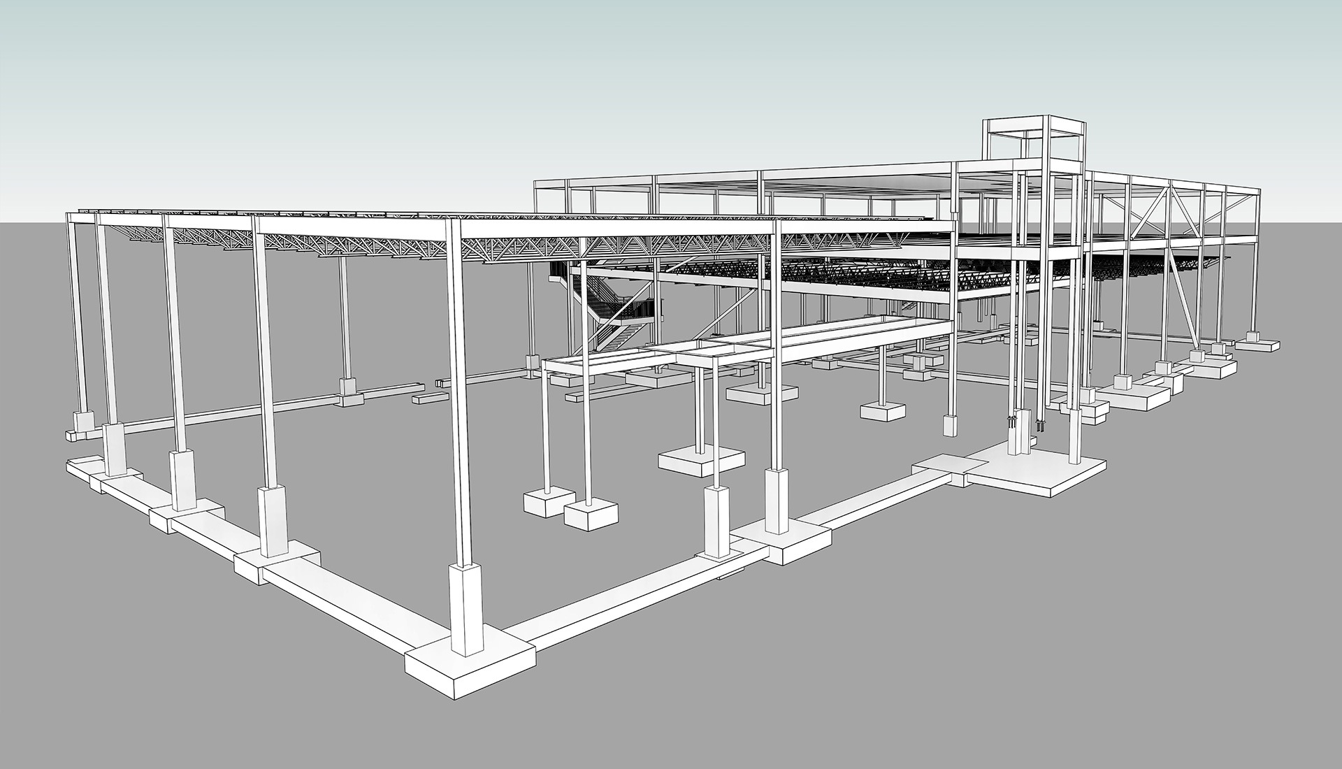 Structural_Modeling_Aerospace-BIM-Project_by_United-BIM