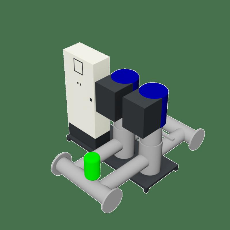 BIM object - Pressure Boosting System