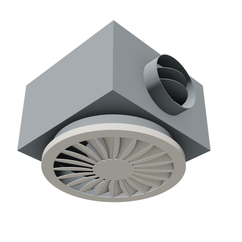 BIM object - Surface Mounted Diffuser
