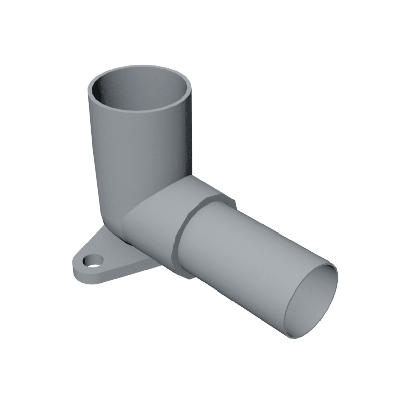 BIM object - Wall Plate Elbow