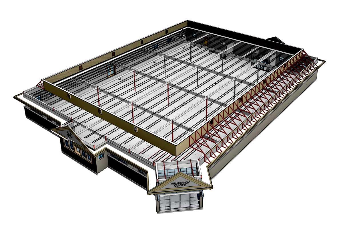 Backus-Hospital-Structural-Modeling-Services-by-United-BIM