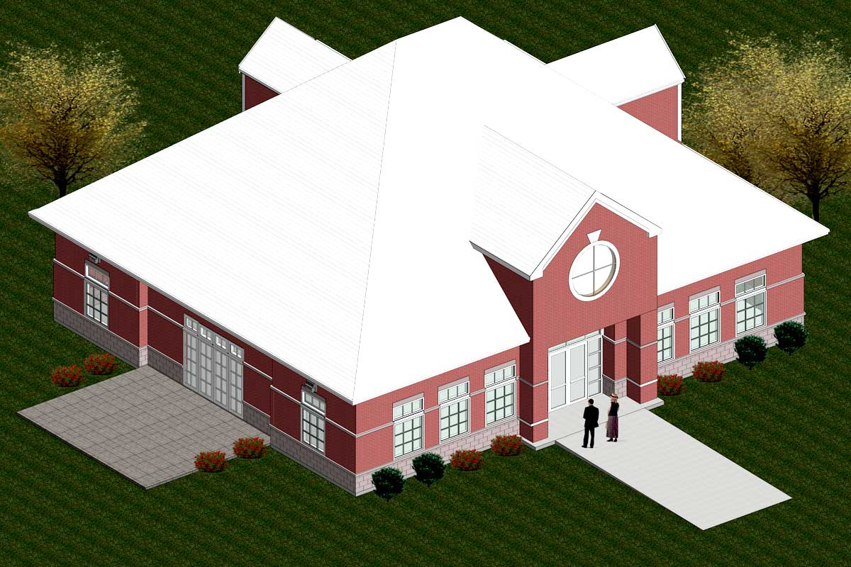 Chapman-Clubhouse-Architectural-Modeling-Services-by-United-BIM.