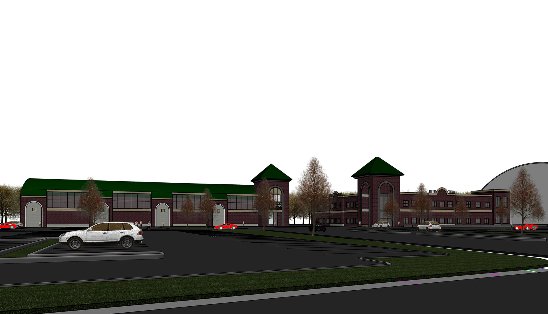 Commercial-Project-Revit-architectural-Modeling-Manchester-RTC-Parkade-CT
