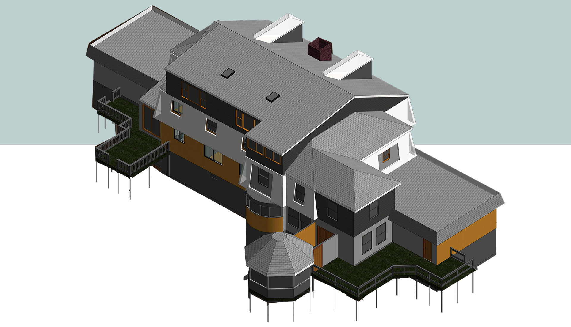 Detailed-Architectural-Revit-Model_Residential-Project_Modeling-Project-by-United-BIM