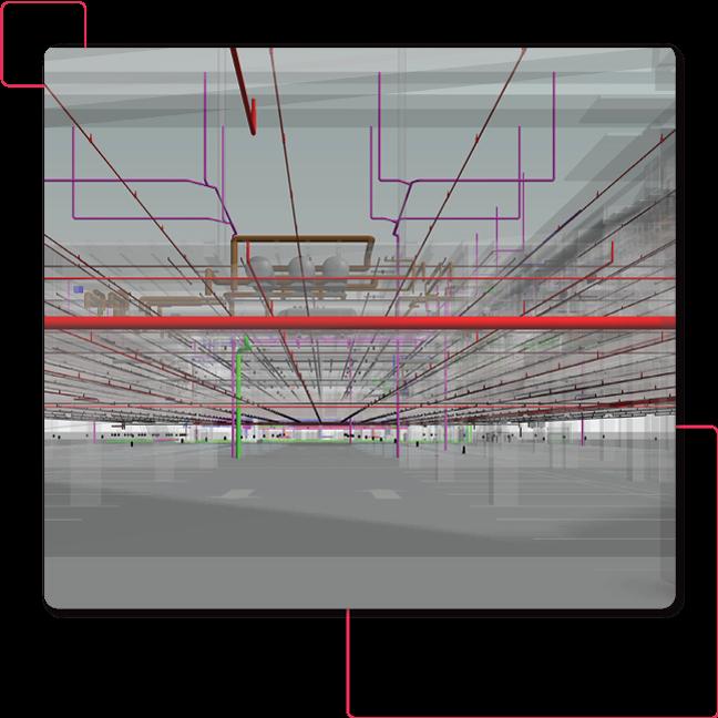 Fire-Protection-Sprinkler-System_3D-MEPFP Modeling by United-BIM