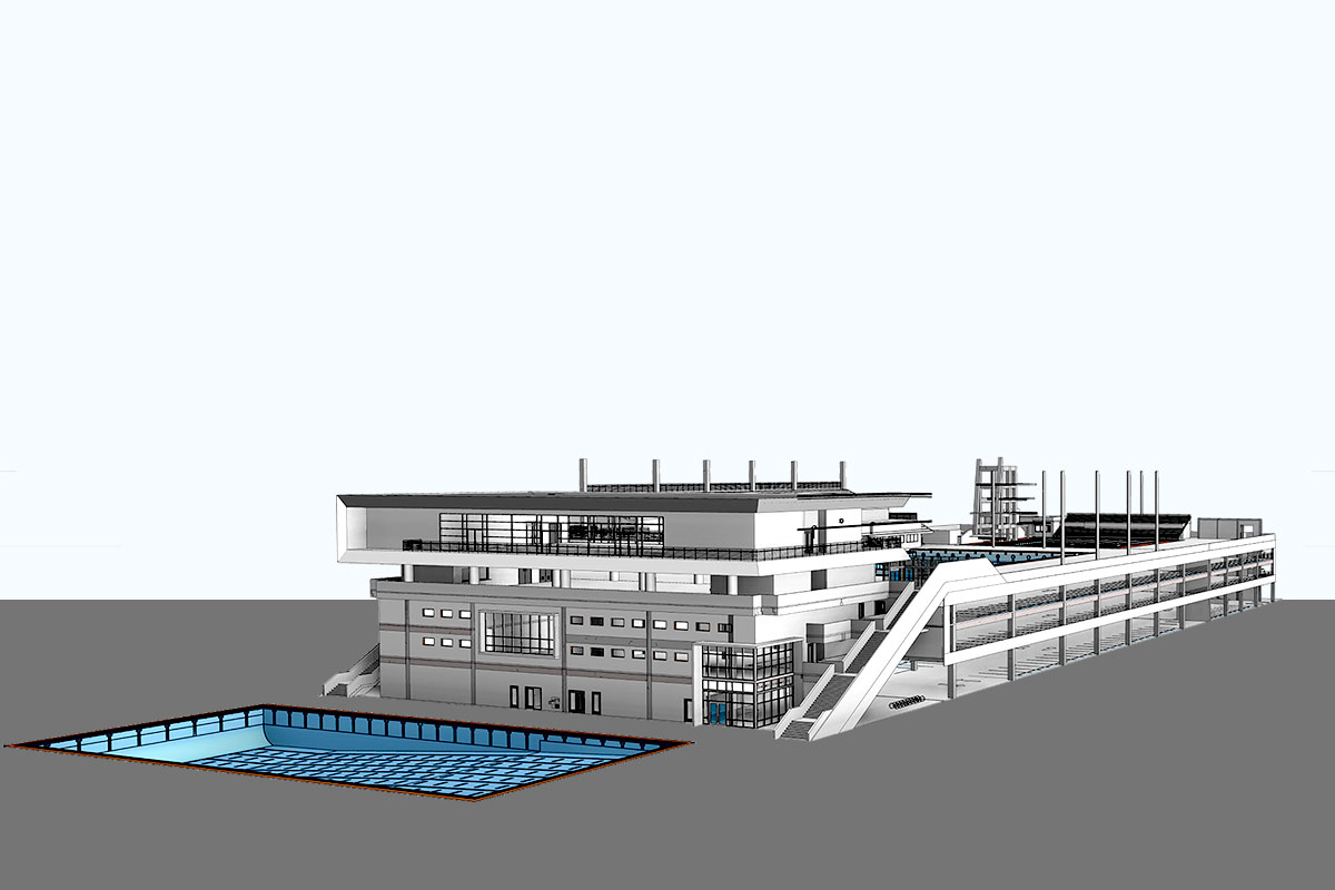 Fort-Lauderdale-Aquatic-Facility-Architectural-Modeling-Services-by-United-BIM